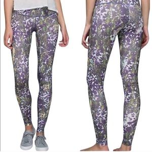 Lululemon Wunder Under Fullux Iris Flower Multi 4